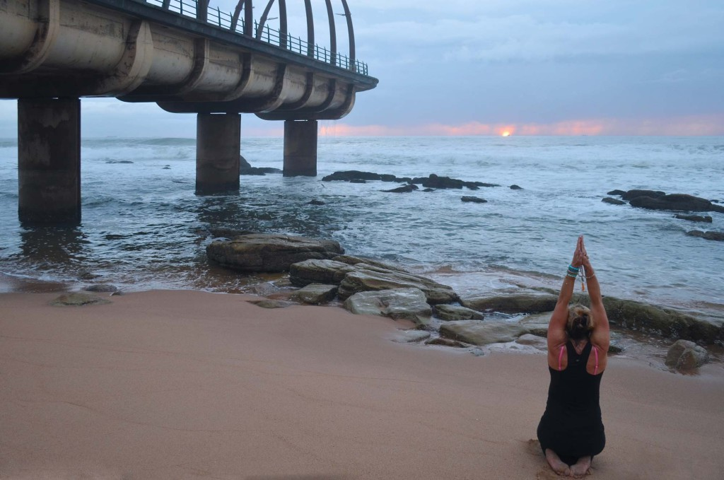 GuruCat hot yoga practice